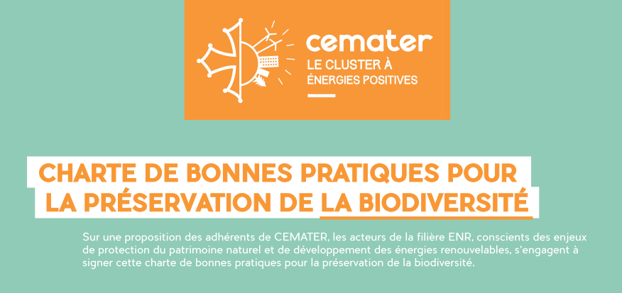 La Charte biodiversité de Cemater fait parler d'elle à Energaïa 2019 !