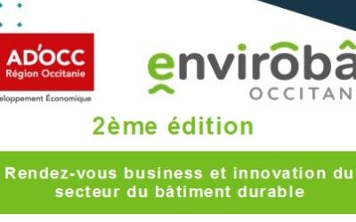 2ème édition du B TO BUILD – RDV Business et Innovation du secteur du bâtiment durable