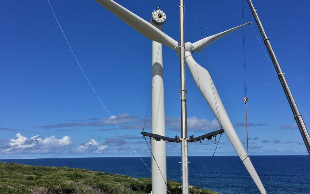 Net-Wind, acteur du montage du parc éolien de Saint-François, en Guadeloupe