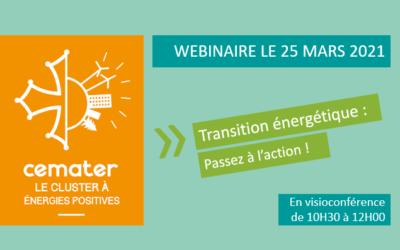 Webinaire «Transition énergétique : Passez à l'action !»