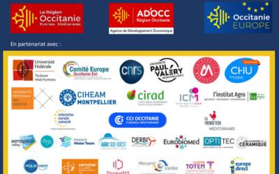 Webinaire «Lancement d'Horizon Europe en Région Occitanie» le 23/03/2021