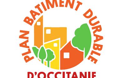 Assistez à la première conférence «Plan Bâtiment Durable Occitanie» le 18/10/2021 !