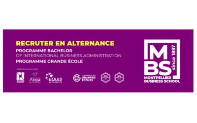 La campagne alternance de Montpellier Business School est lancée !