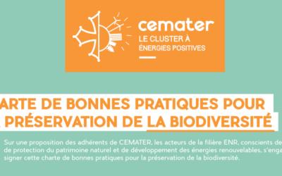 Retrouvez en un clic les bonnes pratiques mises en œuvre par les signataires de la charte biodiversité de Cemater !