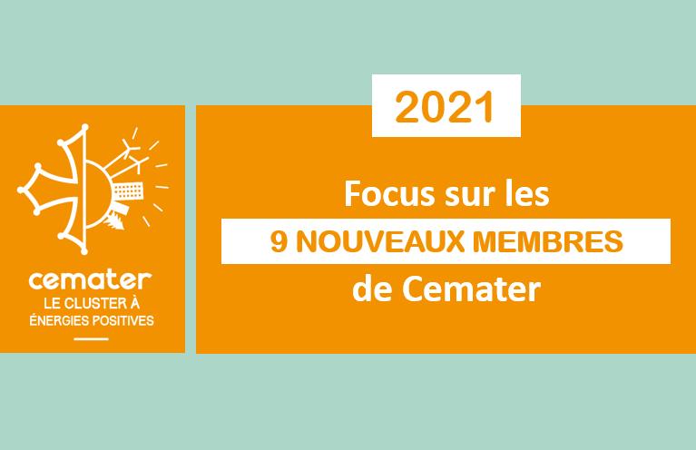 Cemater accueille 9 membres en 2021