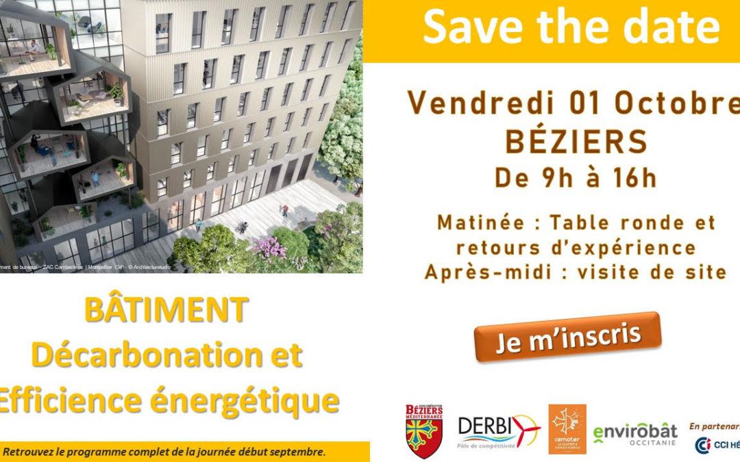 Workshop Béziers Méditerranée 2021