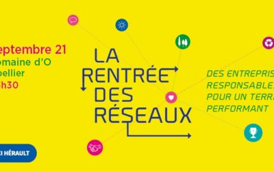 Cemater participera à l'événement «La rentrée des réseaux» le 23/09